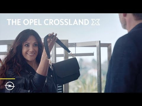 The Opel Crossland X: Luggage