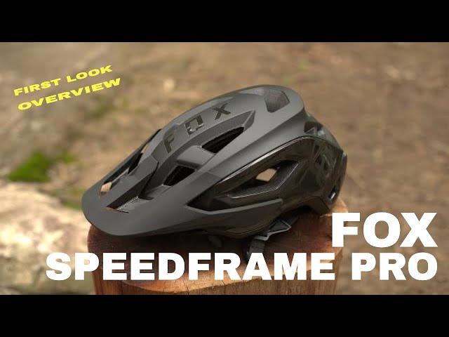 Видео Шлем Fox Spedframe Pro Helmet (Dark Purple)