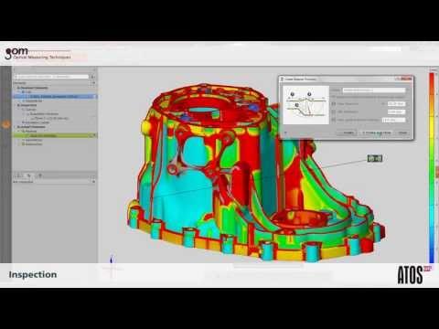 Quét khuôn mẫu 3D – ATOS Triple Scan