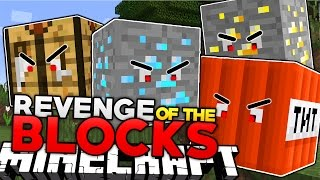 Minecraft | WHEN BLOCKS TAKE REVENGE!   Pet Blocks Mod Showcase