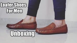 Loafer Shoes For Men | Red Tape Mens Loafers Shoes Unboxing | Loafer Shoe Amazon