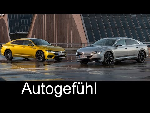 VW Arteon Elegance and R-Line Exterior/Interior/Driving Preview & Safety Features – Autogefühl