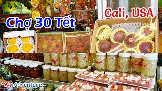 Chiều 30 Tết   Phố Bolsa [ Tham Quan Khu Chợ Người Việt ở Mỹ   Cali ]  Quận Cam   KT Adventure #2