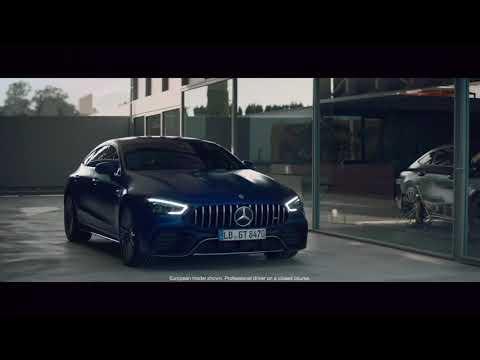 Mercedes Benz AMG GT 4 Door Coupe Лифтбек класса E - рекламное видео 1