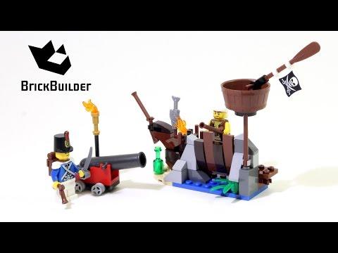 Vidéo LEGO Pirates 70409 : La défense du radeau