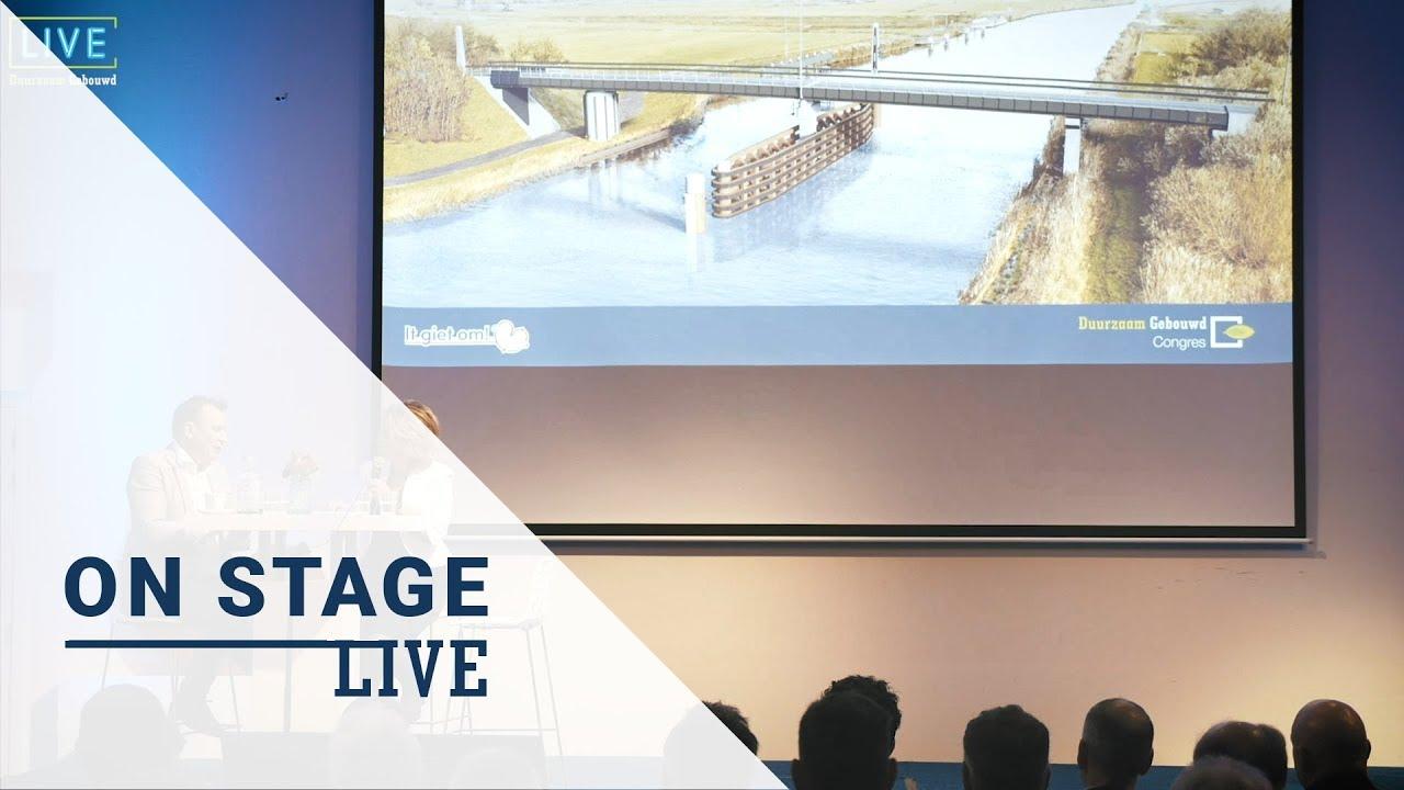 Duurzaam Gebouwd Congres Live on Stage: Michiel Schrier