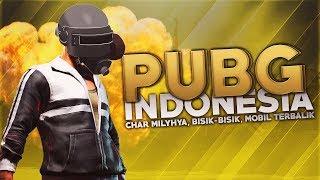 PUBG Indonesia -  Klakson, Whisper Play, Mobil Terbalik
