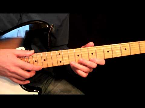 Tapping On One String Etude - Intermediate Guitar Lesson