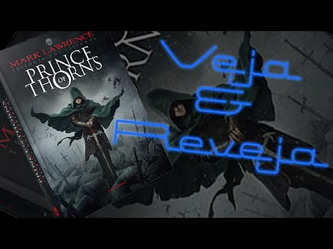Livro Prince of Thorns, Mark Lawrence - Veja&Reveja
