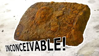 INCONCEIVABLE! 155-Year-Old CIVIL WAR ERA Rusty Axe Head Tool Restoration in 4K! BURIED UNDERGROUND!
