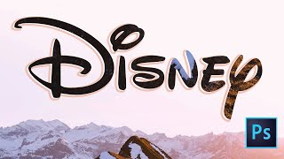 5 Cool Photoshop Text Effect Tutorials - (Disney)