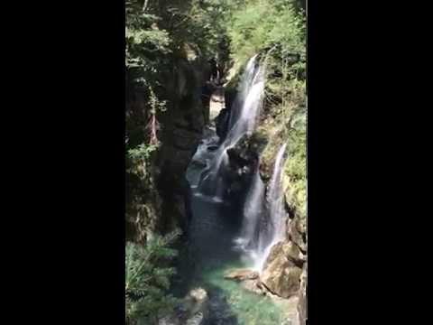 Le cascate di Cossogno
