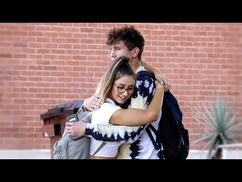 Really Long Hugs Prank 3