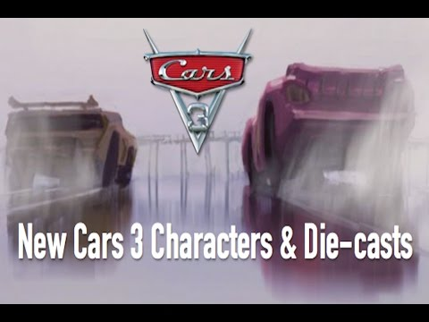 New Cars 3 Characters & Die-casts + New Cruz Ramirez Picture - Speculation & Breakdown