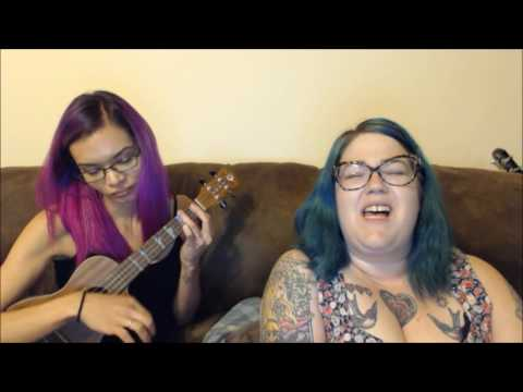 "My friend Chandra and I singing ""Creep""."