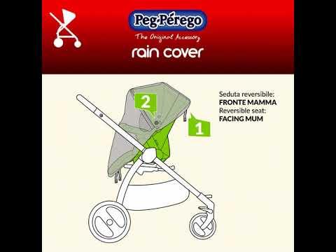 Come agganciare il parapioggia Peg Perego