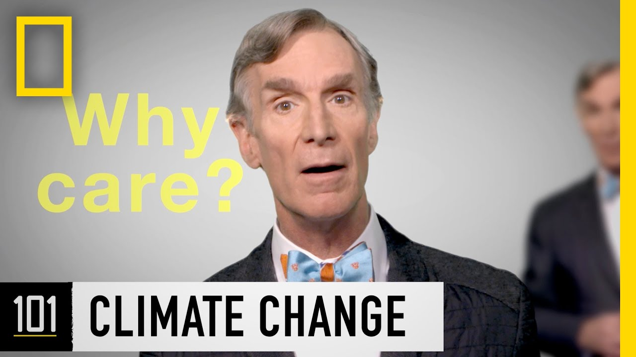 Climate Change 101 with Bill Nye | National Geographic thumbnail
