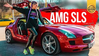 The $185,000 Butterfly Door SUPERCAR | Mercedes SLS AMG In-depth Review