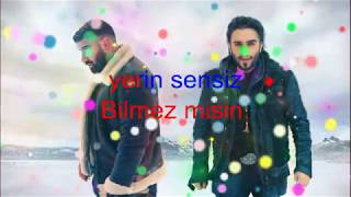 Mudi Damar Damar Ft  İsmail YK KARAOKE (LYRİCS)
