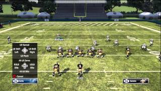 Madden 12 Tutorials - Great Coverage, High Pressure Blitz (34 Over Nano Blitz)