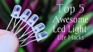 5 Awesome Led Light Life Hacks - Life Hacks For Led Light