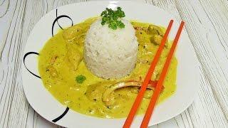 Kurczak w sosie  curry /Kasia ze slaska gotuje