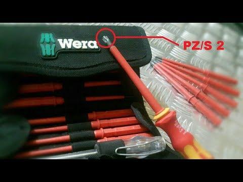 Destornillador WERA Kraftform Kompakt VDE 60 i/65 i/67 i/16