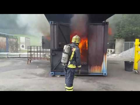 Firefighters Explain How Fire Backdrafts Occur