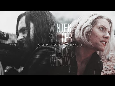 winter soldier & black widow | we're both made of similar stuff