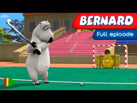 Bernard Bear - 140 - Hockey