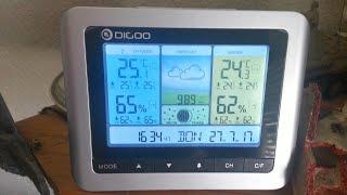 Wetterstation DIGOO TH8888 Pro Wireless - Unboxing