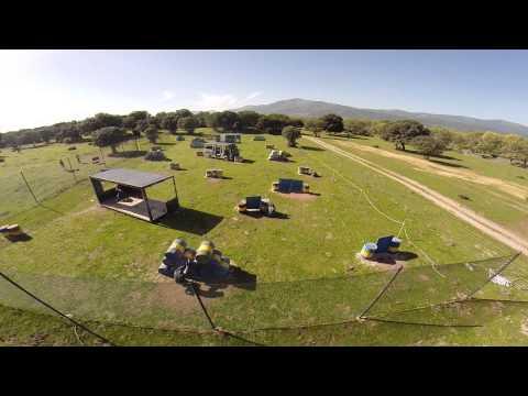 Campo Oeste (Villalba - Madrid) Action Live. Vista aérea