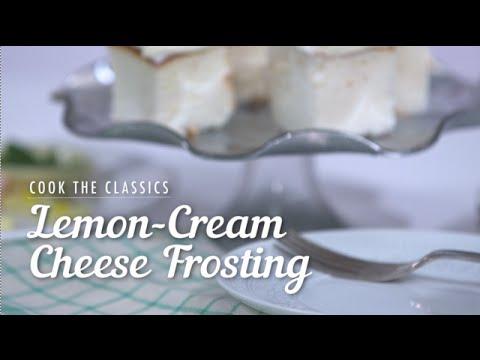 How to Make Classic Lemon-Cream Cheese Frosting I MyRecipes