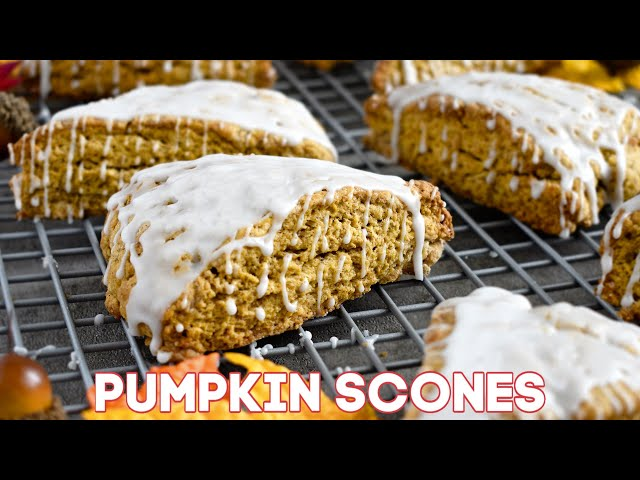 Pumpkin Scones Recipe (VIDEO)