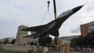 2016-06-28. Обнинск. Подъём МиГ-29