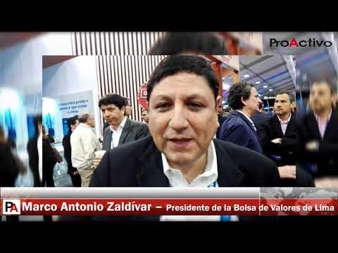 CADE 2017: Entrevista a Marco Antonio Zaldívar, presidente de la Bolsa de Valores de Lima