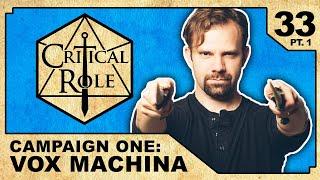 Reunions   Critical Role RPG Show Episode 33, pt. 1