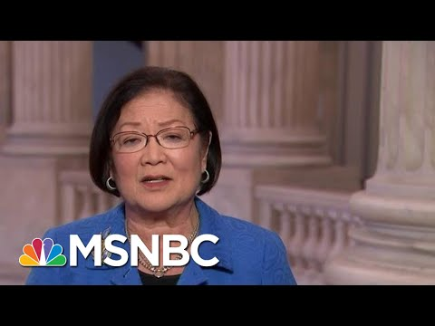 Sen. Mazie Hirono: 'Let's Have Real Witnesses, Relevant Witnesses' | MTP Daily | MSNBC