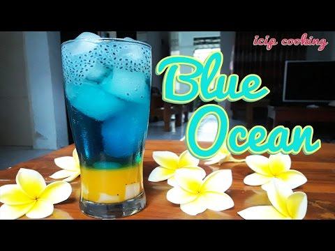 Video Cara Membuat Minuman Blue Ocean