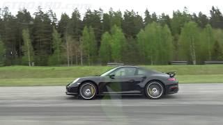 [4k] EVERYTHING vs 580 HP Porsche 991 Turbo S FACELIFT Mk II