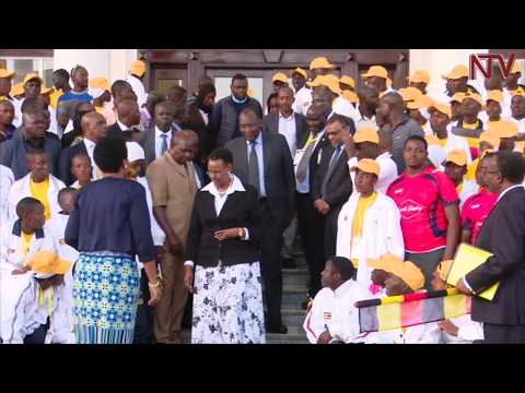 Minister Museveni flags off Uganda's Secondary School games team
