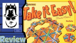 Take it Easy! Review - with Tom Vasel