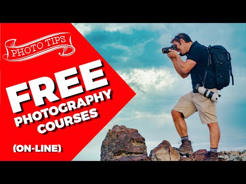 Photography Courses Online FREE - 5 places to find them!