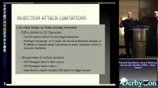 DerbyCon 3 0 1105 Practical Exploitation Using A Malicious Service Set Identifier Ssid Deral Heiland