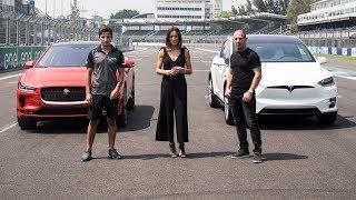 2019 Jaguar i-Pace Vs Tesla Model X - Challenge Test