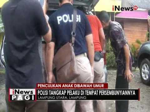 Polres Lampung tangkap lelaki penculik anak dibawah umur selama 8 tahun - iNews Pagi 16/09