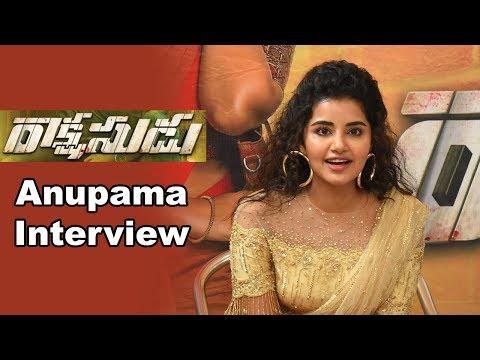 Anupama Parameswaran at Rakshasudu Movie Team Pressmeet