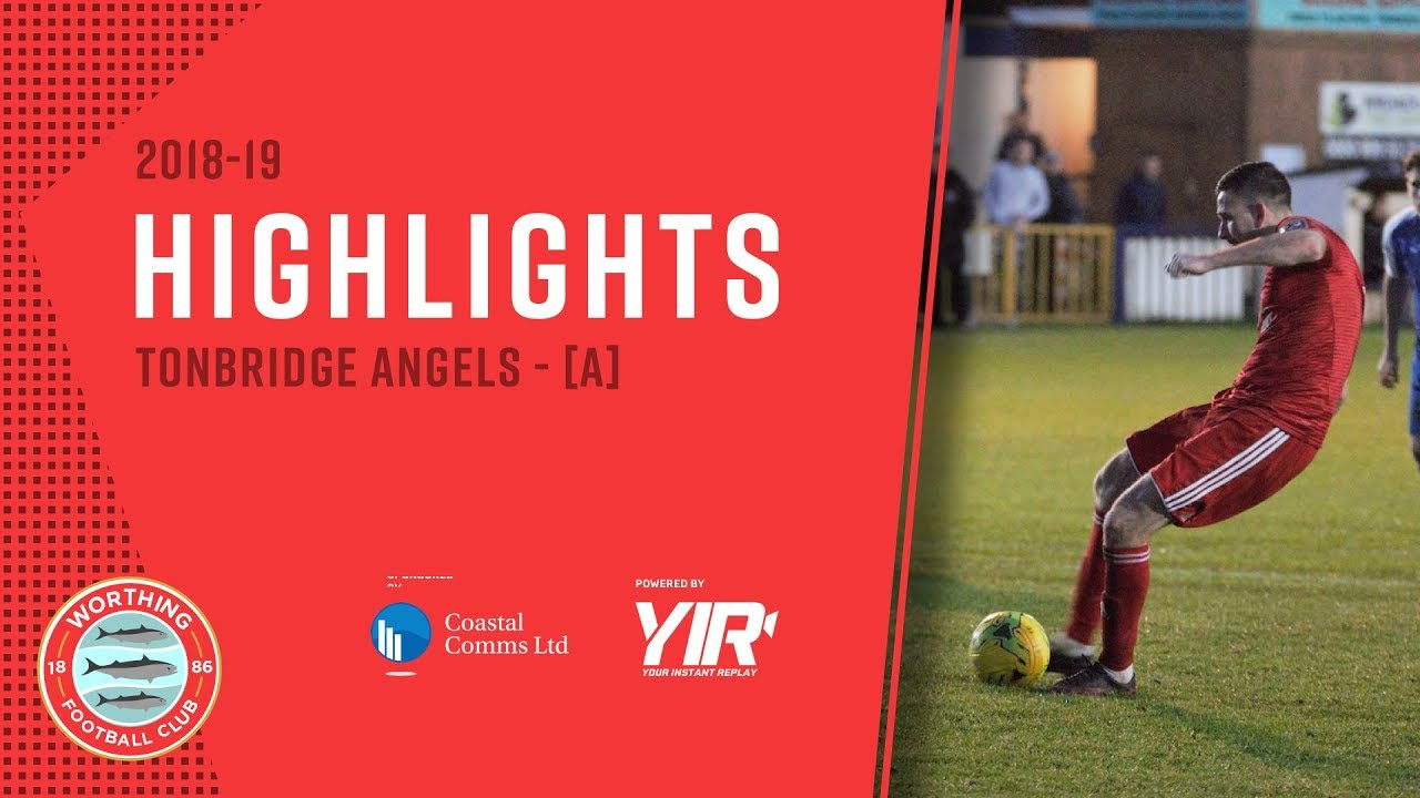 HIGHLIGHTS: Tonbridge Angels 1-2 Worthing [A] – League