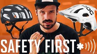 INTELLIGENTE Helme | POC Ventral Air und Tectal Race mit NFC