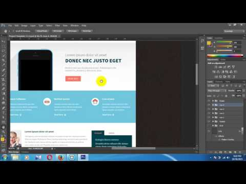 Web Design Tutorial: Header and Banner Design- PSD to HTML convert